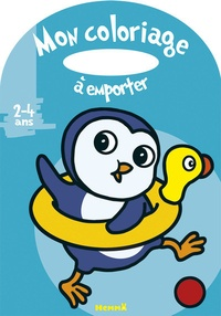 Marie-Anne Didierjean - Mon coloriage à emporter - Pingouin.