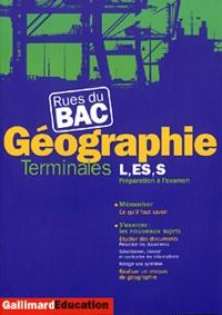 Marie-Anne Gervais-Lambony et Patrick Gueu - Géographie, terminales L, ES, S.