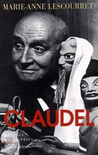 Marie-Anne Lescourret - Claudel.