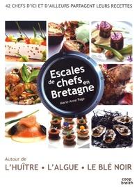 Marie Anne Page - Escales de chefs en Bretagne.