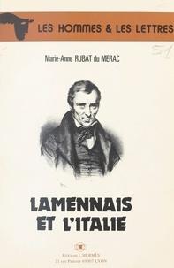 Marie-Anne Rubat Du Merac - Lamennais et l'Italie.