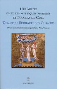 Alixetmika.fr L'humilité chez les mystiques Rhénans et Nicolas de Cues Image