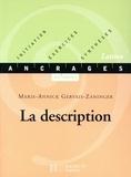 Marie-Annick Gervais - La description - Edition 2001.
