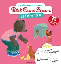 Marie Aubinais et Danièle Bour - Les animaux - Avec 40 autocollants à placer.
