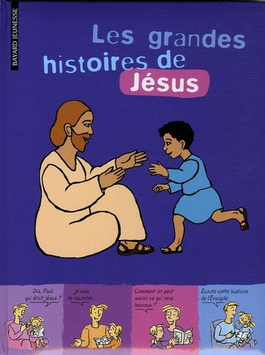 Marie Aubinais et Gwénaëlle Boulet - Les grandes histoires de Jésus.