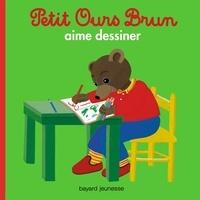 Marie Aubinais - Petit Ours Brun aime dessiner.