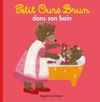 Marie Aubinais - Petit Ours Brun dans son bain.