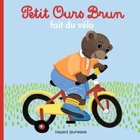 Marie Aubinais - Petit Ours Brun fait du vélo.