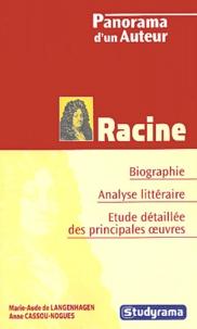 Marie-Aude de Langenhagen et Anne Cassou-Noguès - Racine.