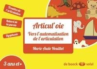 Marie Aude Heuillet - Articul'oie - Améliorer l'articulation par le jeu.