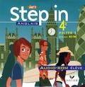Marie-Aude Ligozat - Anglais 4e Let's Step in - CD audio-ROM élève.