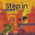 Marie-Aude Ligozat - Anglais New Step in 5e - CD audio-ROM élève.