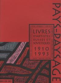 Marie Avril et Jean-Philippe Jaccard - Livres d'artistes russes et soviétiques - 1910-1993.