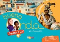 Marie Balayer Garcia - Espagnol 4e LV2 Cycle 4 A1/A1+ Buena noda - Livre de l'élève.