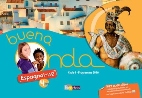Espagnol 4e Lv2 Cycle 4 A1 A1 Buena Noda Livre De L Eleve Grand Format