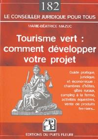 Tourisme vert : comment développer son projet.pdf