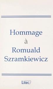 Marie-Bernadette Bruguière et Jean-Louis Harouel - Hommage à Romuald Szramkiewicz.