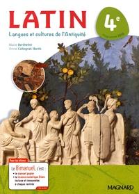 Marie Berthelier et Annie Collognat - Latin 4e - Langues et cultures de l'Antiquité.