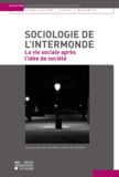 Marie-Blanche Tahon - Sociologie de l'intermonde - La vie sociale après l'idée de société.