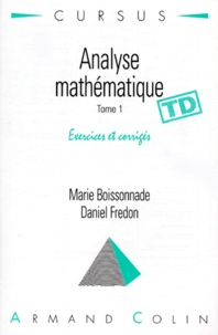 Galabria.be Analyse mathématique - Tome 1, exercices corrigés, TD Image