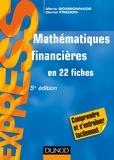 Marie Boissonnade et Daniel Fredon - Mathématiques financières en 22 fiches.
