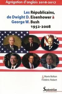 Deedr.fr Les Républicains, de Dwight Eisenhower à George W. Bush (1952-2008) Image