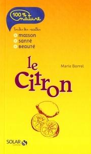 Marie Borrel - Le citron.
