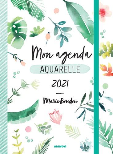 Mon agenda aquarelle  Edition 2021