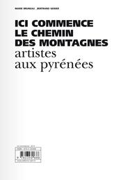 Ebooks pdf téléchargements Ici commence le chemin des montagnes  - Artistes aux Pyrénées in French ePub MOBI PDB par Marie Bruneau, Bertrand Genier 9782350688305
