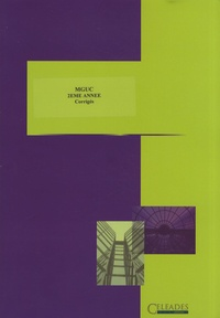 Marie-Camille Debourg - Etudes de cas MGUC 2e année - Corrigés. 1 Cédérom