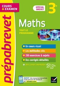 Marie-Caroline Bureau et Jean-Pierre Bureau - Prépabrevet Maths 3e Brevet 2022 - cours, méthodes et entraînement (brevet 2022).