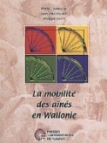 Marie Castaigne et Jean-Paul Hubert - La mobilite des aines en wallonie.
