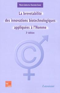 La brevetabilité des innovations biotechnologiques appliquées à lhomme.pdf