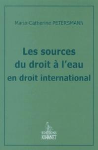 Accentsonline.fr Les sources du droit à l'eau en droit international Image