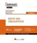 Marie-Cécile Lasserre et Sophie Druffin-Bricca - Droit des obligations - Licence 2.
