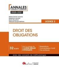Marie-Cécile Lasserre et Delphine Lanzara - Droit des obligations - Licence 2.