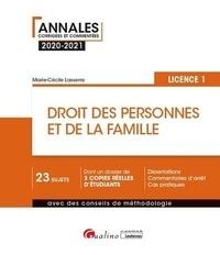 Marie-Cécile Lasserre - Droit des personnes et de la famille - Licence 1.