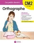 Marie Chardonnet - Orthographe CM2.