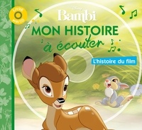 Marie-Christine Barrault et Claude Morand - Bambi. 1 CD audio
