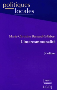L'intercommunalité - Marie-Christine Bernard-Gélabert |
