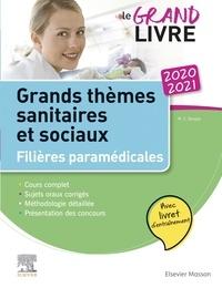 Marie-Christine Denoyer - Grands thèmes sanitaires et sociaux - Filières paramédicales, avec livret d'entraînement.