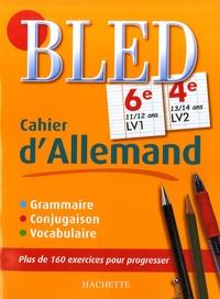 Cahier d'allemand 6e LV1, 4e LV2 - Marie-Christine Despas | Showmesound.org