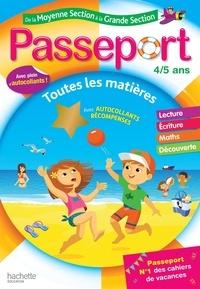 Marie-Christine Exbrayat et Nadia Poure - Passeport de la Moyenne Section à la Grande Section 4-5 ans.