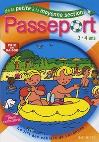 Marie-Christine Exbrayat et Nadia Poure - Passeport de la Petite à la Moyenne Section.