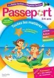 Marie-Christine Exbrayat et Nadia Poure - Passeport de la Petite Section à la Moyenne Section 3-4 ans.