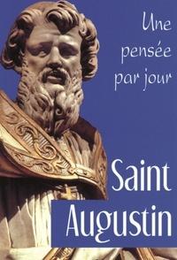 Marie-Christine Hazaël-Massieux - Saint Augustin - Une pensée par jour.