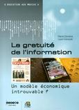 Marie-Christine Lipani-Vaissade - La gratuité de l'information - Un modèle économique introuvable ?.