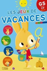 Marie-Christine Lorho - Les jeux de vacances GS vers CP.