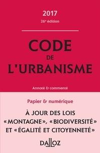 Marie-Christine Mehl-Schouder et Jacques-Henri Driard - Code de l'urbanisme - Annoté et commenté.