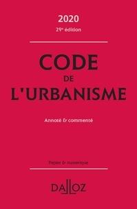Marie-Christine Mehl-Schouder et Jacques-Henri Driard - Code de l'urbanisme - Annoté & commenté.